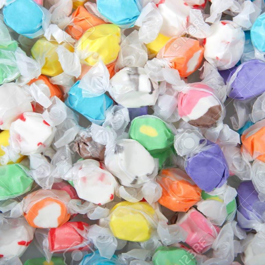 Candies Assorted Salt Water Taffy Sweets