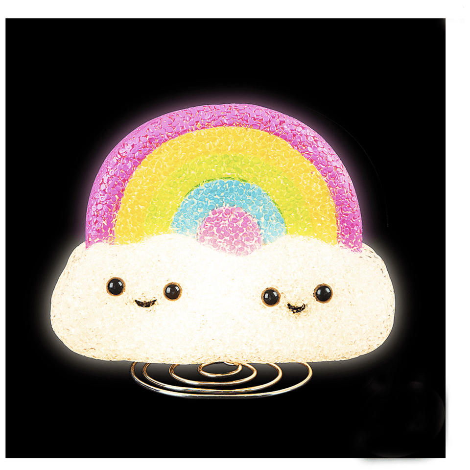 Toys Sparkle Rainbow Lamp Sugar Cubed