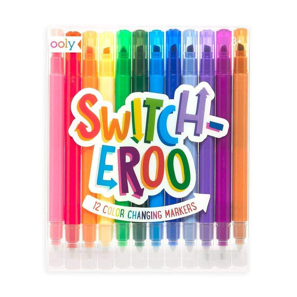 Arts and Crafts Switch-eroo Markers 879426008224 OOLY