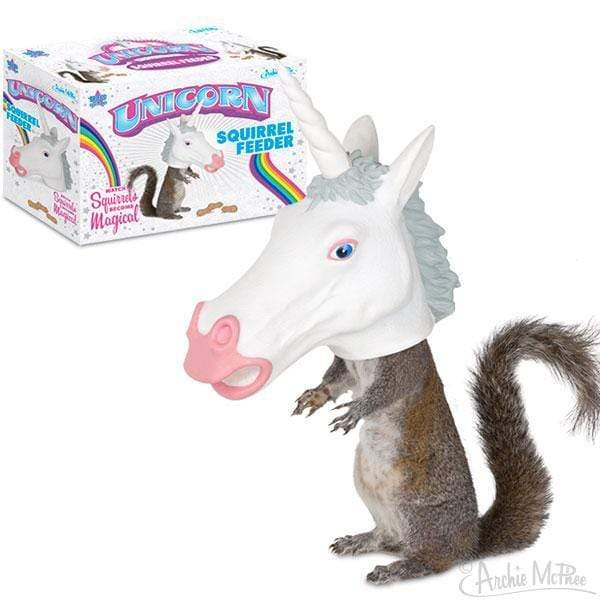 Unicorn Squirrel Feeder 739048125504 Sugar Cubed