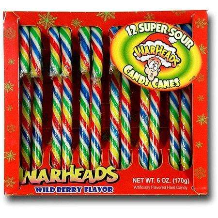 Candies Warheads Candy Canes 032134237021 Redstone