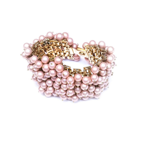 Zest Marketplace J. Crew Collection pink blush beaded bracelet