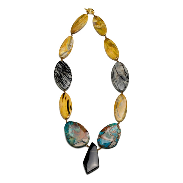 Jody Candrian natural stone necklace