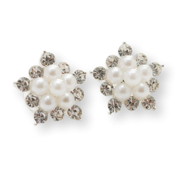 Zest Marketplalce Pearl and Rhinestone Studs