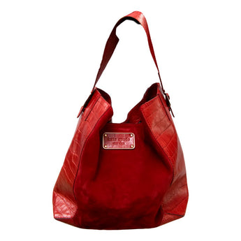Zest Marketplace Kate Spade Collection Red Malva Belmont Handbag