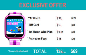 Y17 GPS Watch Package