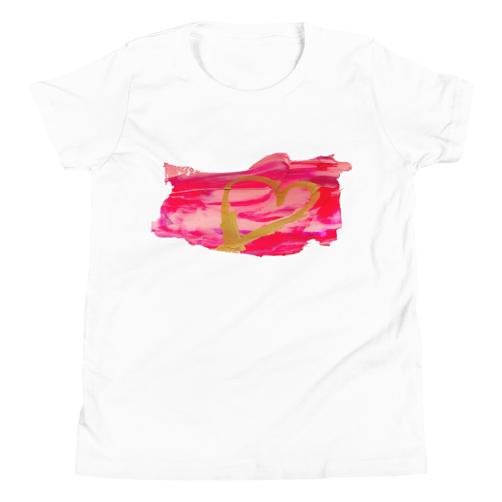 Valentine's Day Youth Short Sleeve