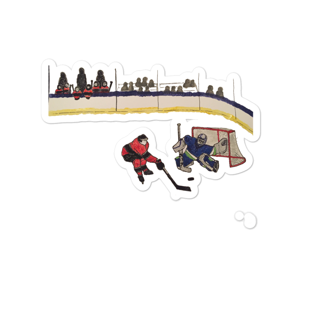 Hockey Family Sticker