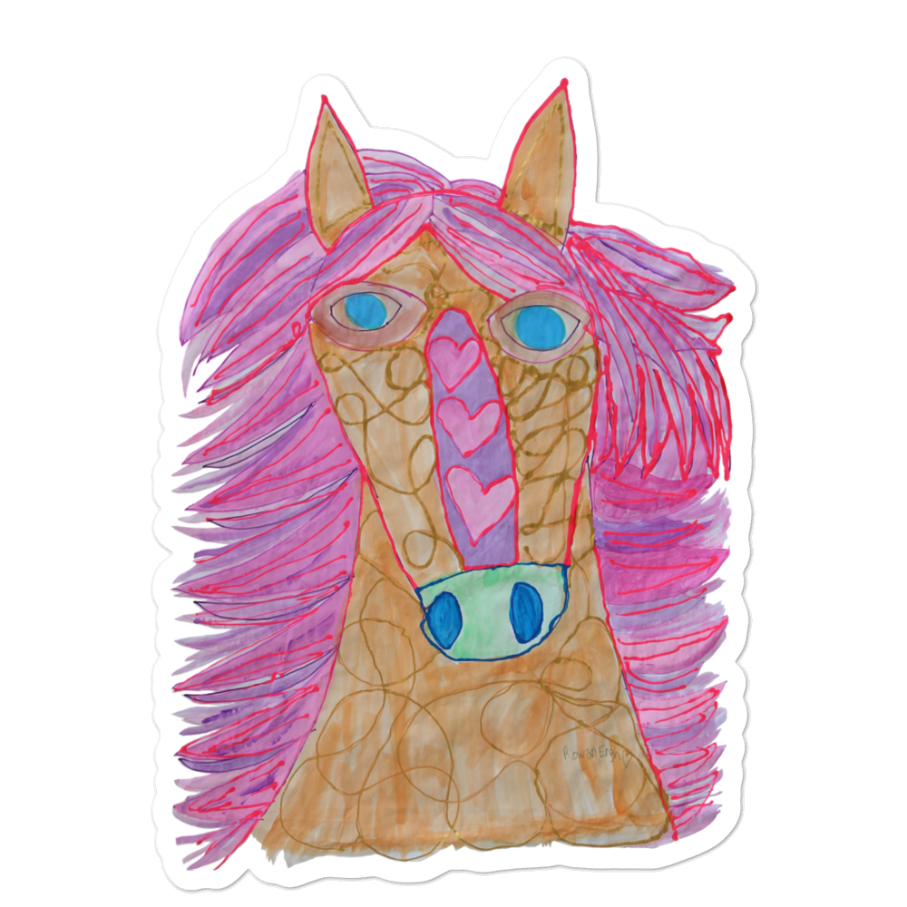 Billy the Horse Sticker