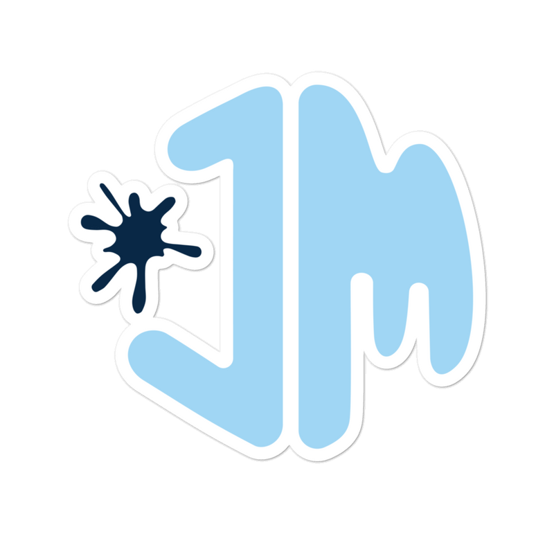 JM Logo Sticker