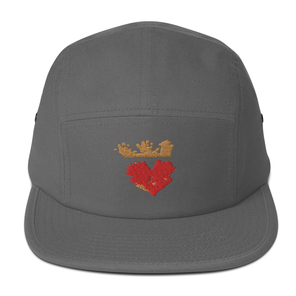 Queen of Hearts Five Panel Cap