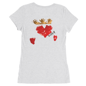 Queen of Hearts Women's Fit Short Sleeve