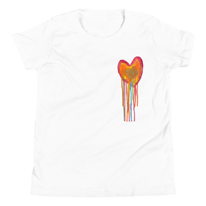 Bleeding Heart Youth Short Sleeve