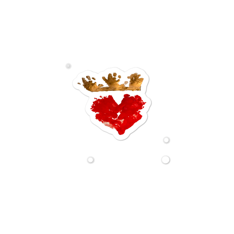 Queen of Hearts Sticker