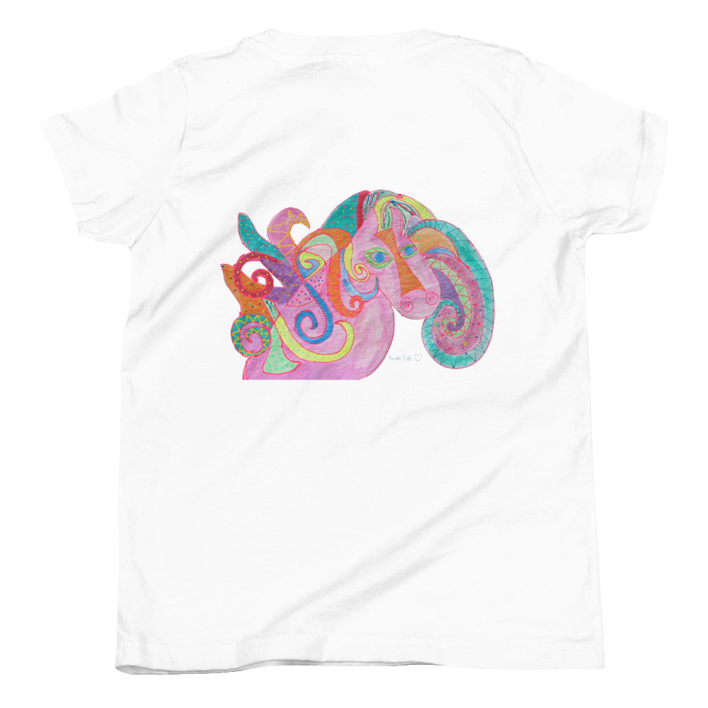 Rowdy the Horse Youth Short Sleeve