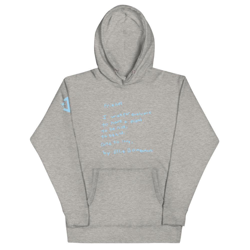 Friends (Blue Text) Unisex Hoodie