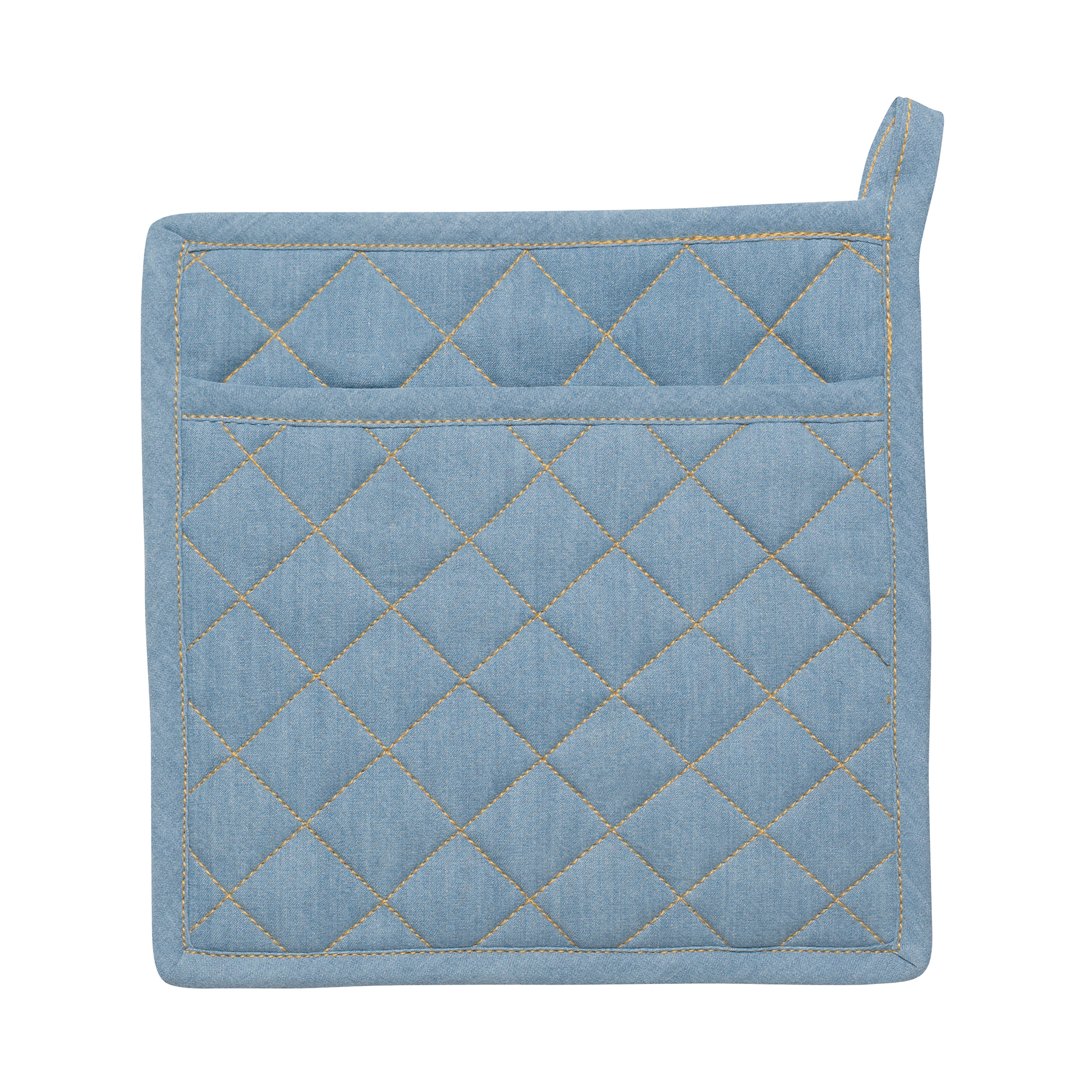 Potholder - Light Denim