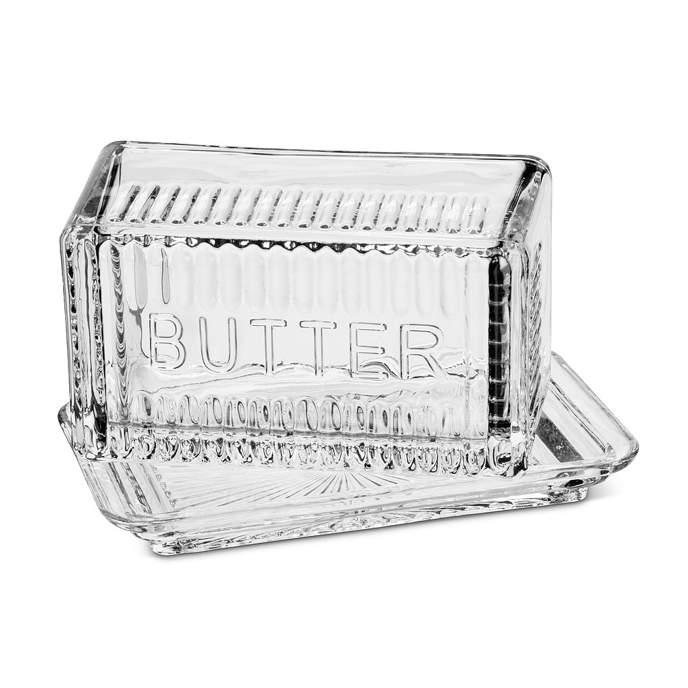 Butter Dish - Glass Rectangle