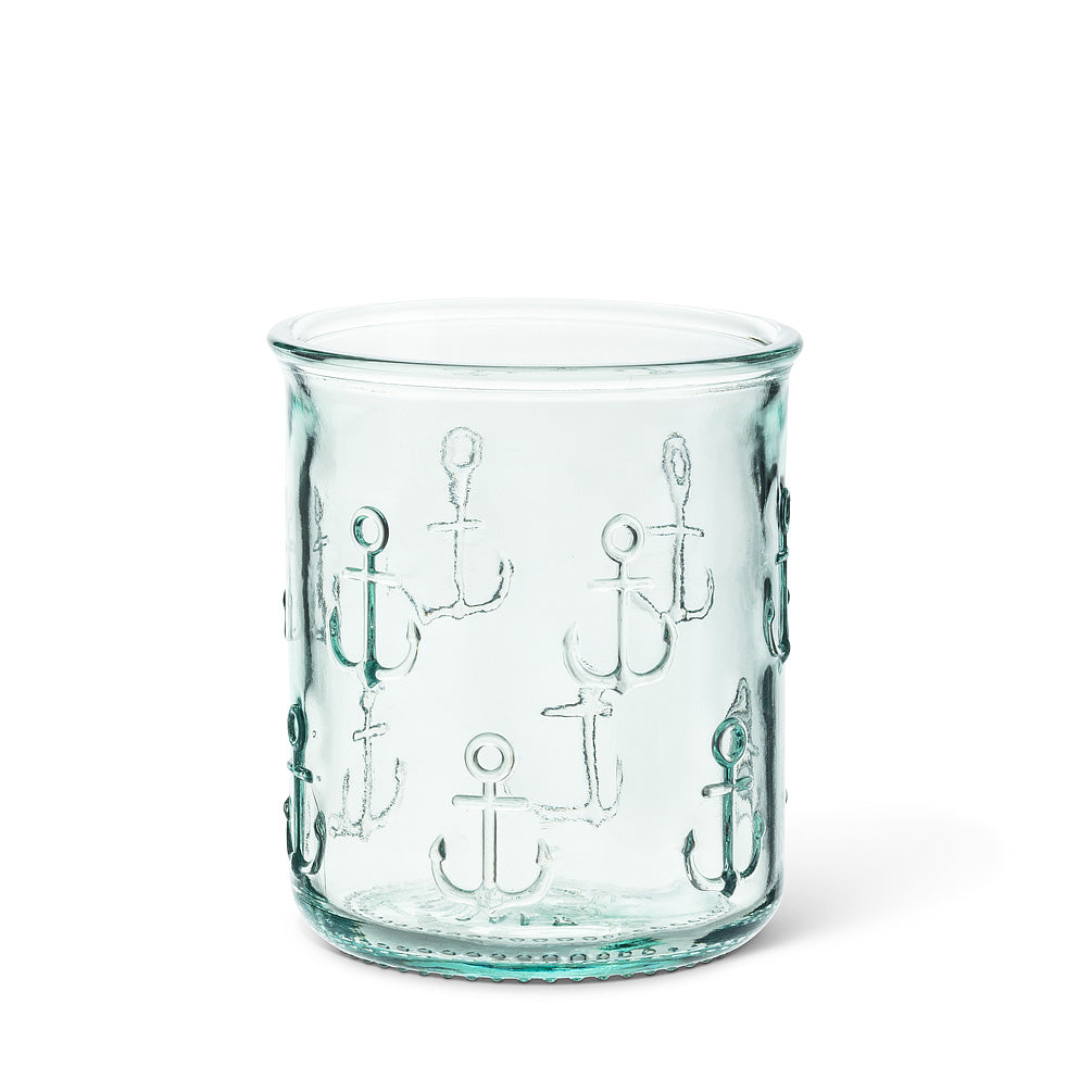 Glass Tumbler - Anchor