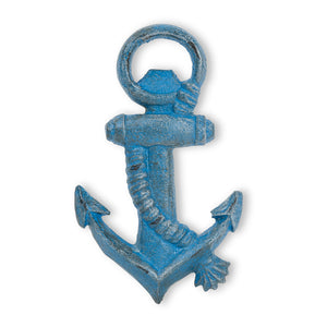 Bottle Opener - Blue Anchor