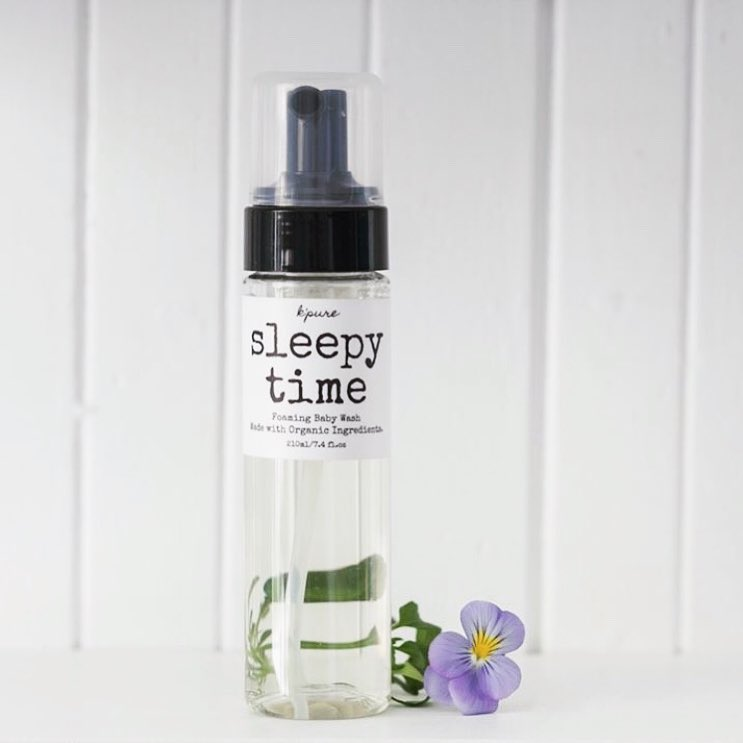 K'pure - Foaming Baby & Face Wash - Sleepy Time