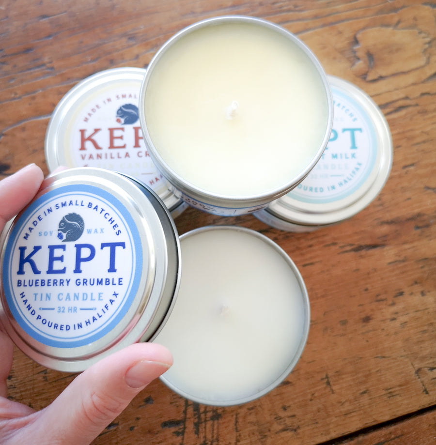 Kept Tin Candle