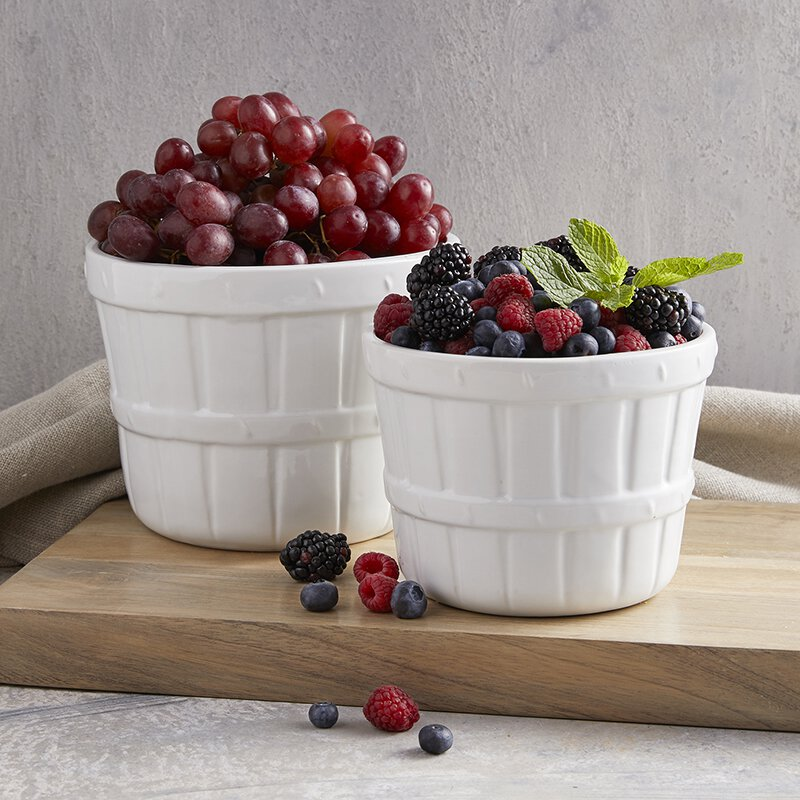 Fruit Basket - White