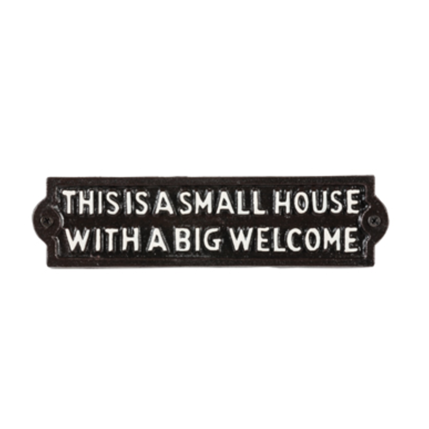 Cast Iron Sign - Small House