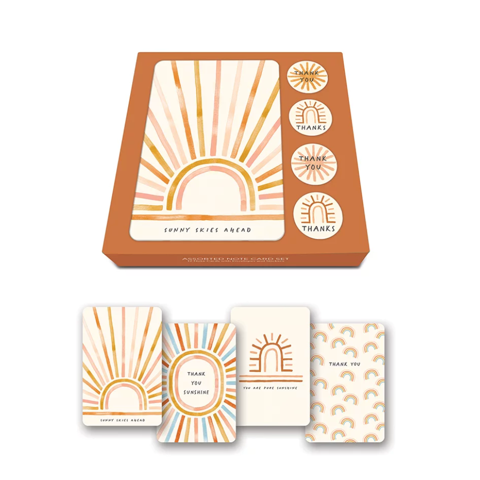 Note Card & Sticker Set