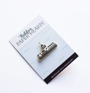 Enamel Pin - Dartmouth Ferry