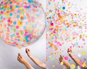 Confetti Balloon Kit - Giant