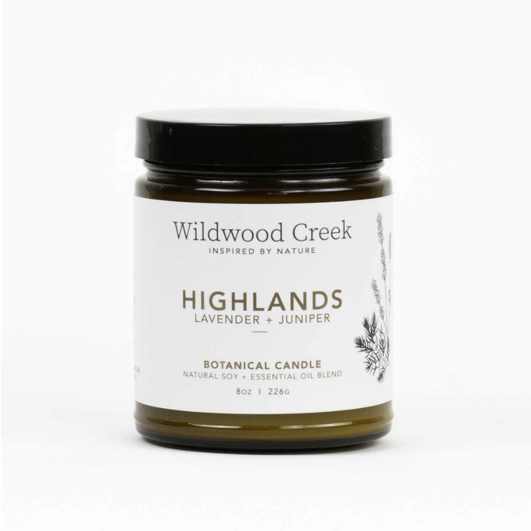 Wildwood Creek - Candle 8oz - Highland