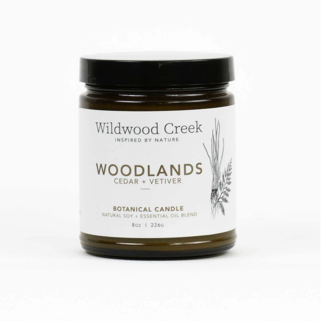 Wildwood Creek - Candle 8oz - Woodland