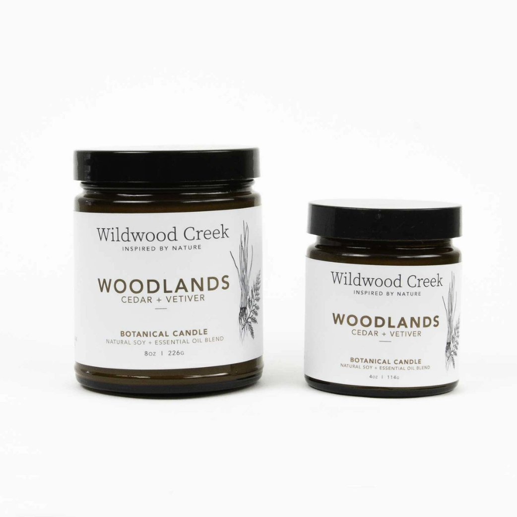 Wildwood Creek - Candle 4oz - Woodland