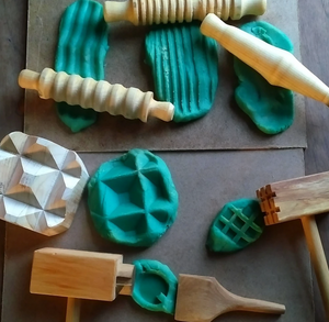 Toy Maker of Lunenburg - Wooden Dough & Clay Set