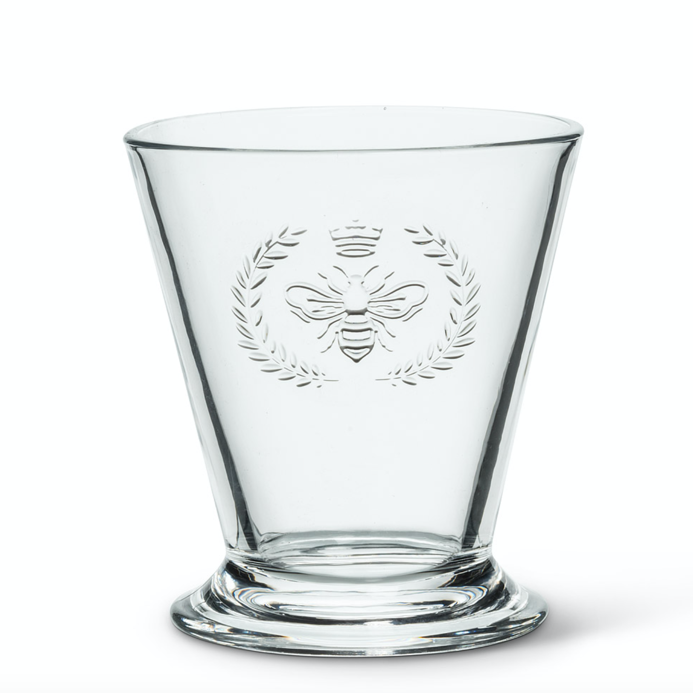 Glass Highball - Bee Crest
