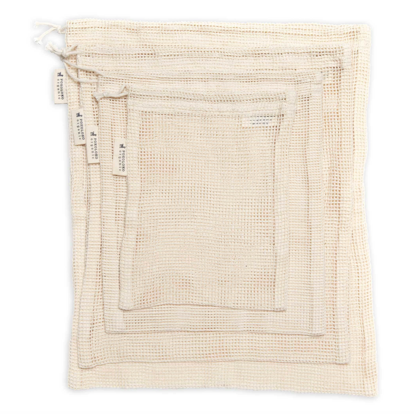 Organic Cotton Eco Bag Set