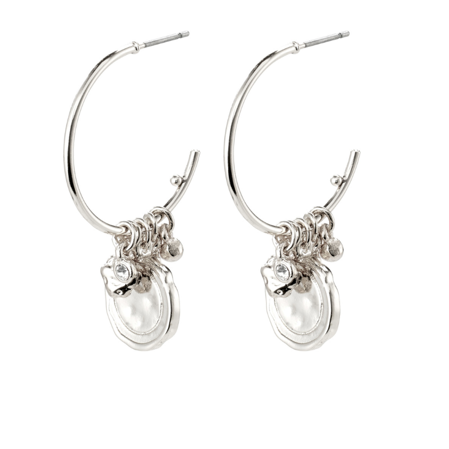 Pilgrim Earrings - Air - Hoops