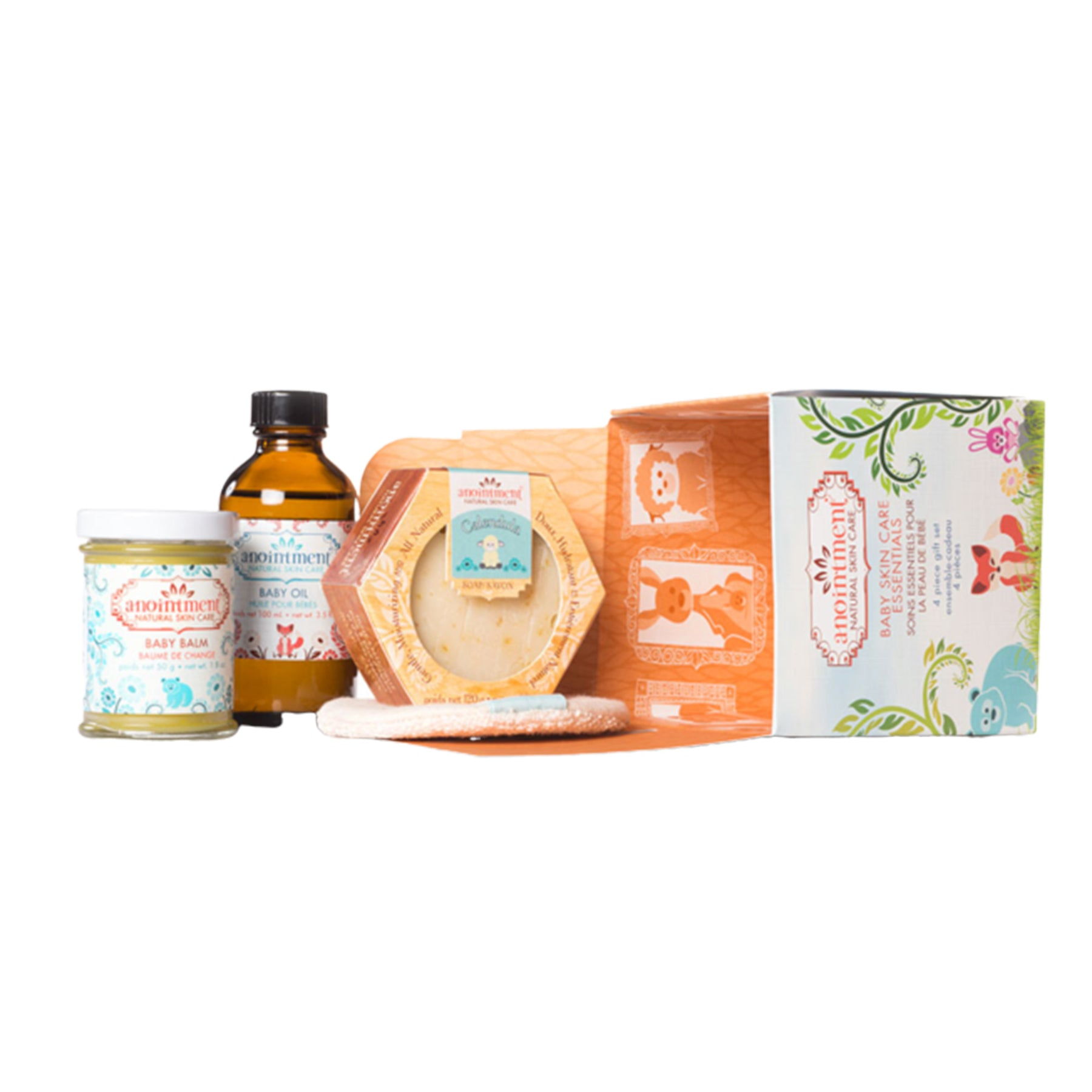 Anointment - Baby Skin Care Essentials Gift Set