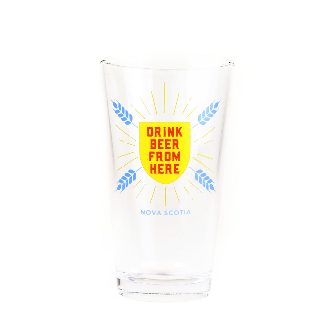 Glass - Drink Beer From Here