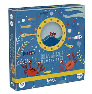 Memory Game - Ocean Animals