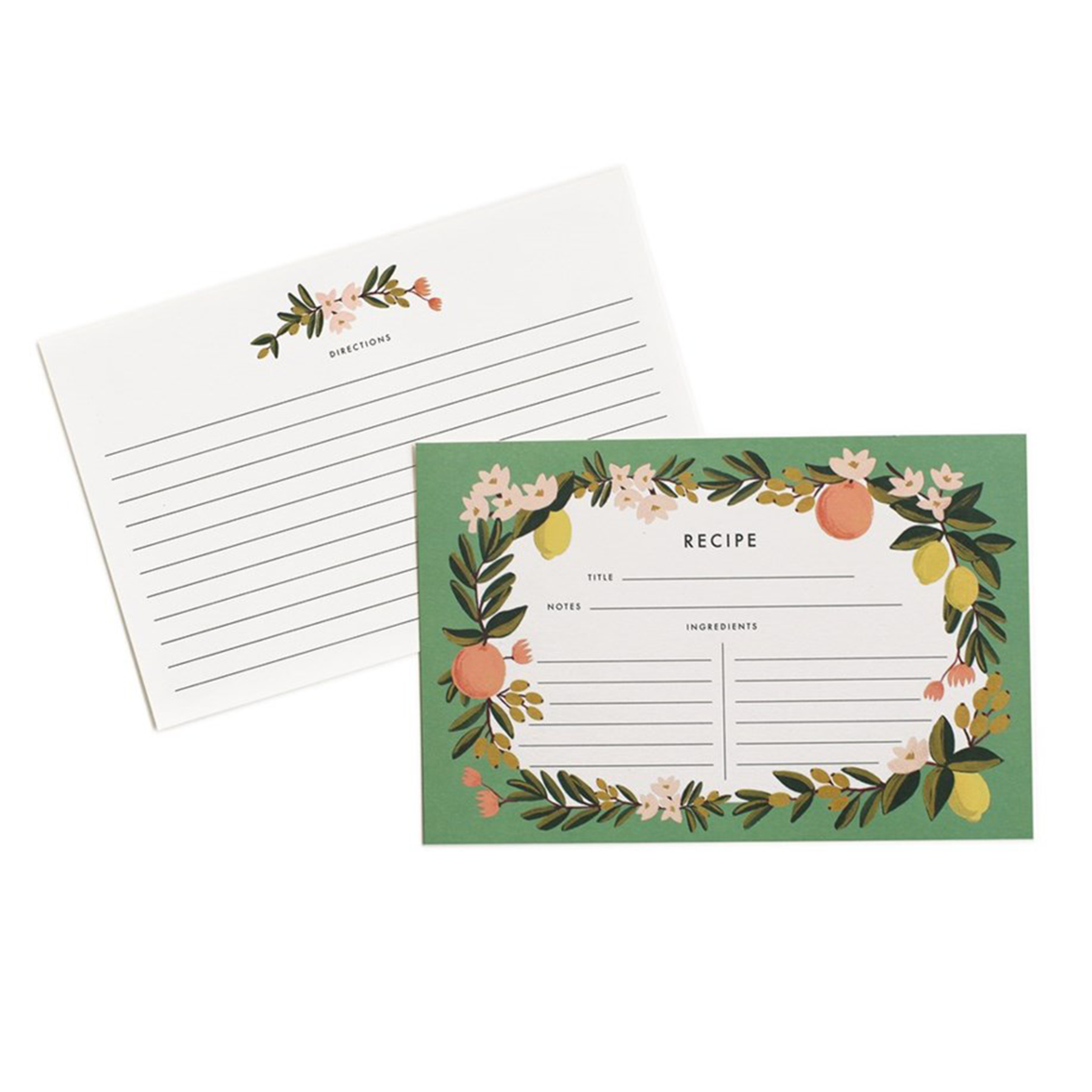 Rifle Paper - Recipe Cards