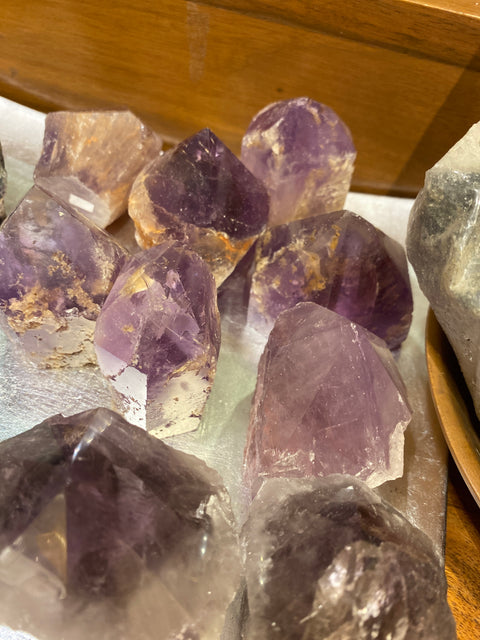 Amethyst Crystal Polished Points