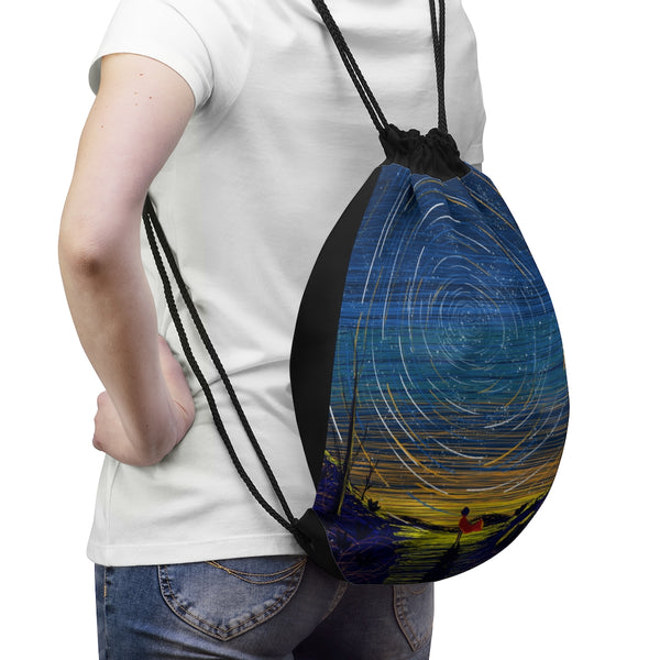 Starry Sky Drawstring Bag