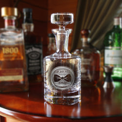 Best Man Engraved Personalized Gifts, Decanter
