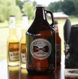 Best Man Engraved Personalized Gifts, Beer Growlers
