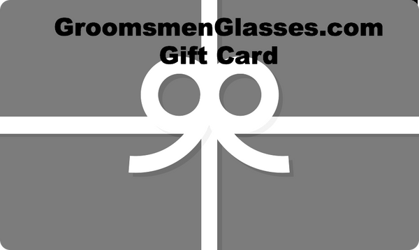 Gift Card for Groomsmen
