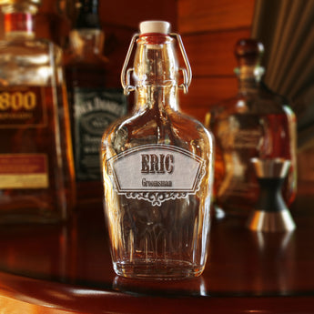 groomsmen engraved flask, whiskey gifts