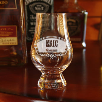 Groomsmen Glencairn Glass, Engraved Gifts