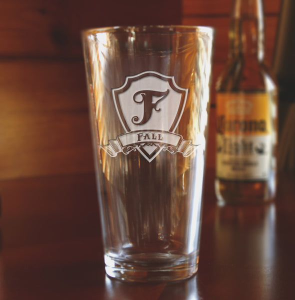 Groomsmen Pint Pub Glasses Gifts Engraved Etched Personalized for Best Man Wedding Gift.